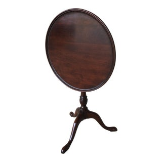 Statton Old Towne Solid Cherry Tilt Top Table