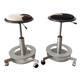 Saturn Stools by Dakota Jackson - A Pair