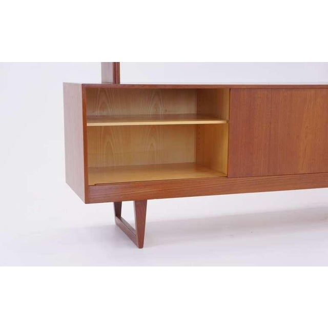 Kurt Ostervig Two Piece Storage Cabinet, Room Divider, or Credenza - Image 4 of 5