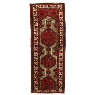 "RugsinDallas Vintage Persian Sarab Wool Runner - 3'4"" X 6'5"""