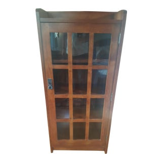 Stickley Mission One Door Cabinet