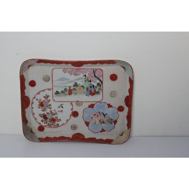 1940's Japanese Tray - Image 2 of 7