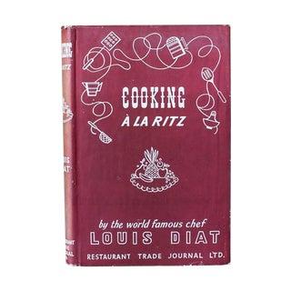 Cooking a La Ritz, 1946 Book