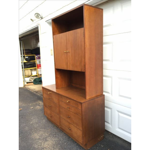 Paul McCobb Style Mid-Century Credenza With Hutch - Image 5 of 11