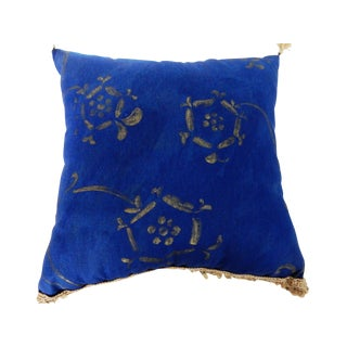 Linen and Silk Lumbar Pillow