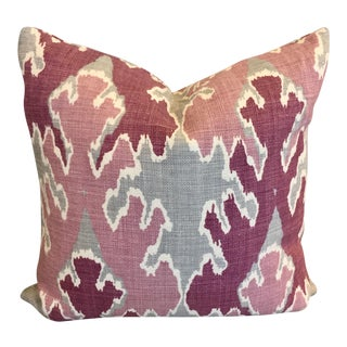 Accent Pillow in Bengal Bazaar Magenta