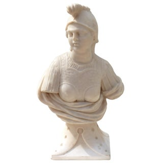 Marble Carving of Minerva