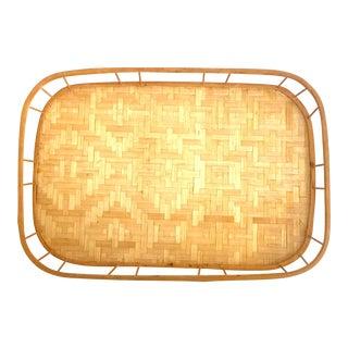 Basket Weave Boho Chic Tray