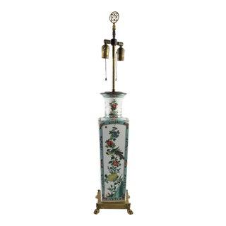 Porcelaine De Paris Chinoiserie Table Lamp