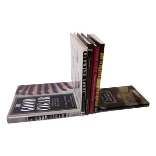 Cigar Smoking Book Collection - Set of 6