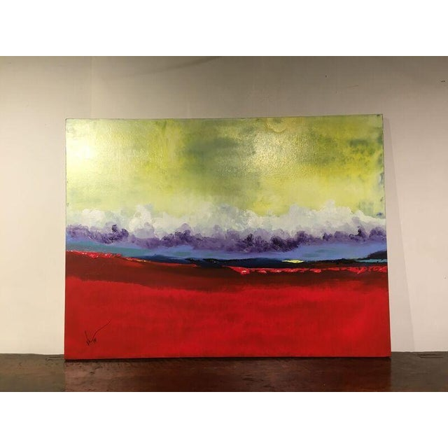 "Vincent Golshani ""Southern Rain"" Painting - Image 2 of 6"