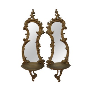 Syroco Wall Sconces - A Pair