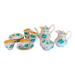 European Porcelain Tea - Set of 15