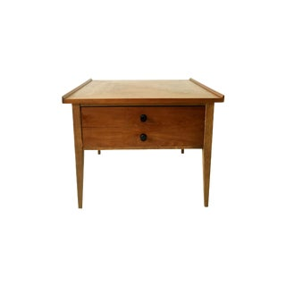 Walnut Danish Modern End Table