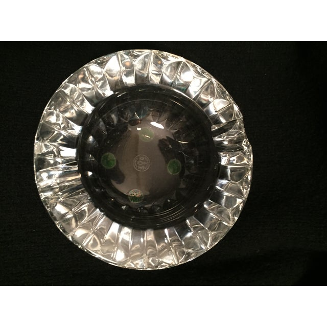 Image of Vintage French Baccarat Crystal Ashtray