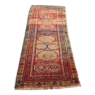 "Vintage Persian Kourdish Runner - 2'11"" X 7'1"""