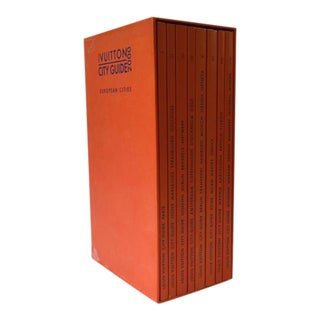 Louis Vuitton European City Guides - Set of 8