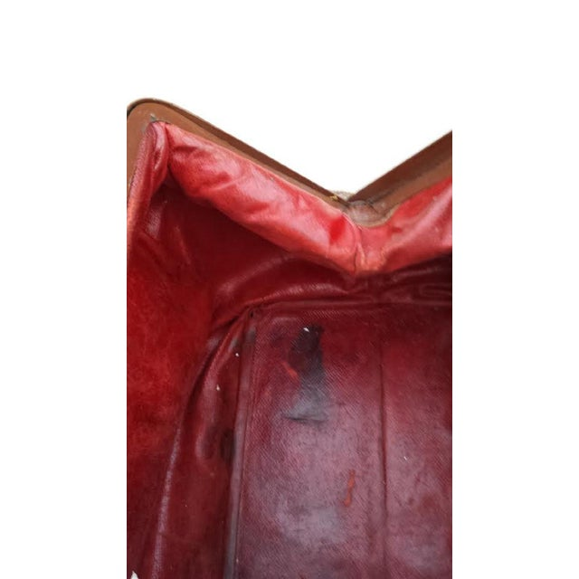 Brown Leather Doctor's Bag - Image 6 of 6