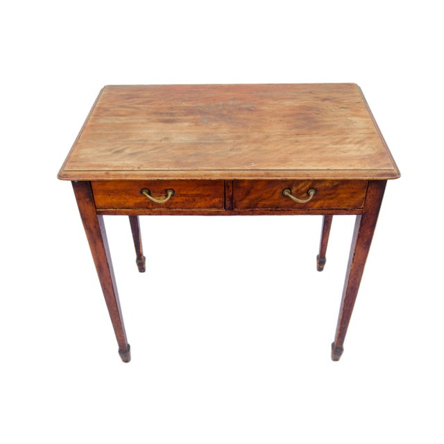 Antique Cherry Desk or Dressing Table - Image 5 of 8 - Antique Cherry Desk Or Dressing Table Chairish