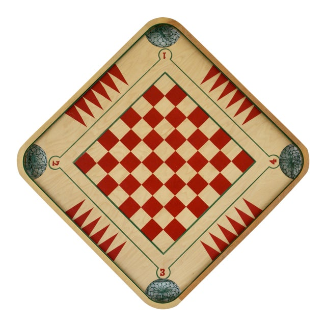 Vintage Mid-Century Game Board - Image 1 of 6