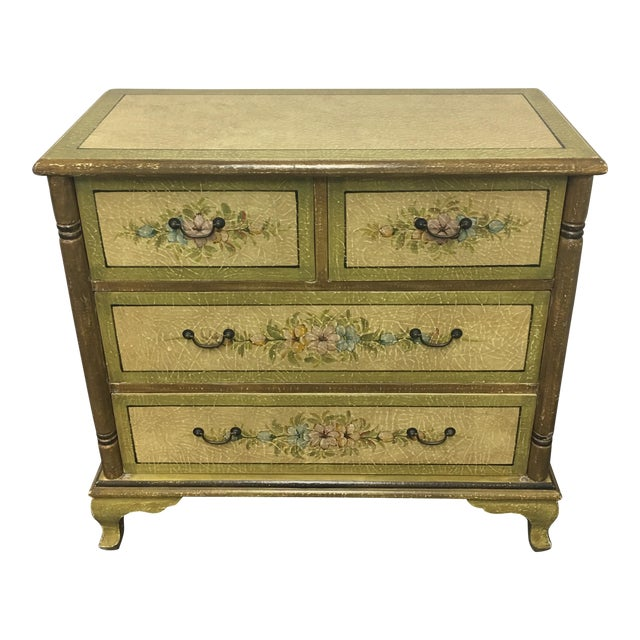 Hand Painted Four Drawer Chest - Image 1 of 10