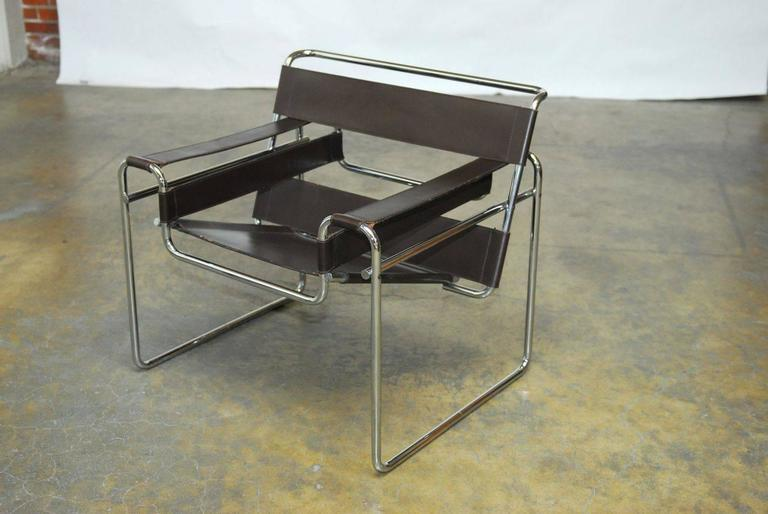 marcel breuer midcentury wassily chair for stendig image 2 of 9