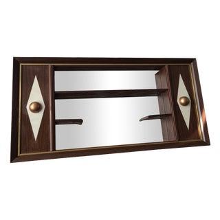 Mid-Century Modern Turner Shadowbox Mirror