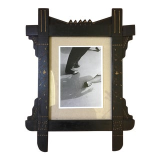19th C. Victorian Eastlake Aesthetic Picture Frame