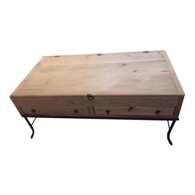 Wooden Apothecary Coffee Table Chairish
