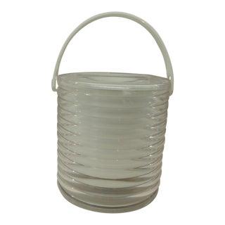 Vintage Lucite Ice Bucket