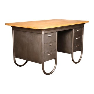 Vintage Industrial Forman's Desk