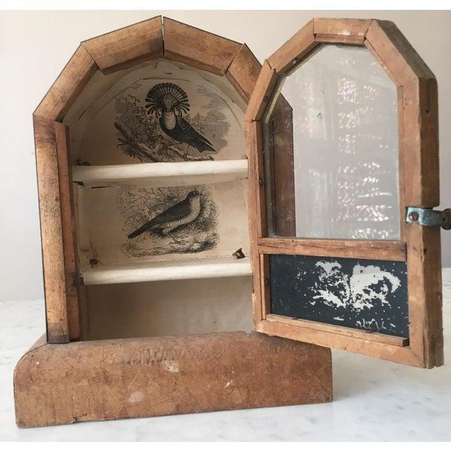 Handmade Wooden Showcase Display Cabinet - Image 3 of 6