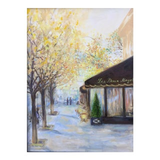 'Autumn in Paris' Oil Painting