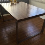 Image of Handmade Reclaimed Wood Dining Table