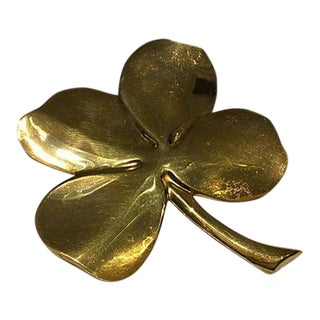 Lucky Four Leaf Clover Paperweight