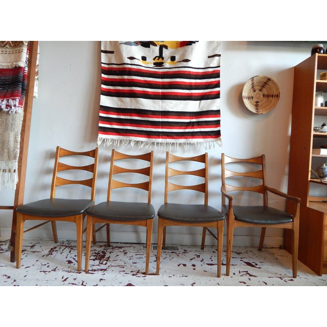 Rhythm Dining Chairs by Lane - Set of 4 - Image 2 of 5