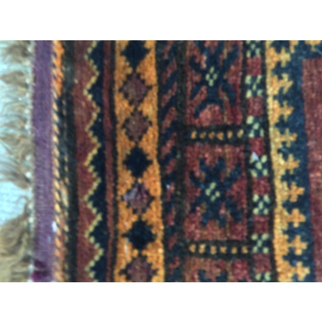 Balluchi Persian Rug - 1′10″ × 1′10″ - Image 7 of 8