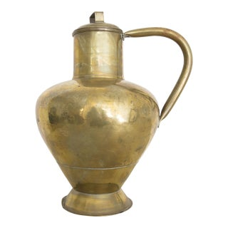 Vintage Decorative Brass Pitcher