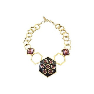 1980s Yves Saint Laurent Modernist Necklace