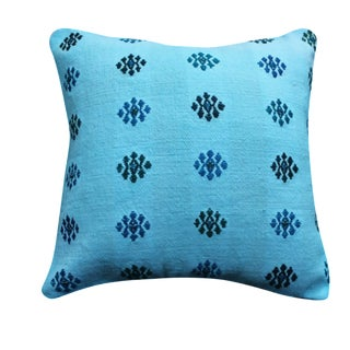 Blue Turkish Pillow Cover