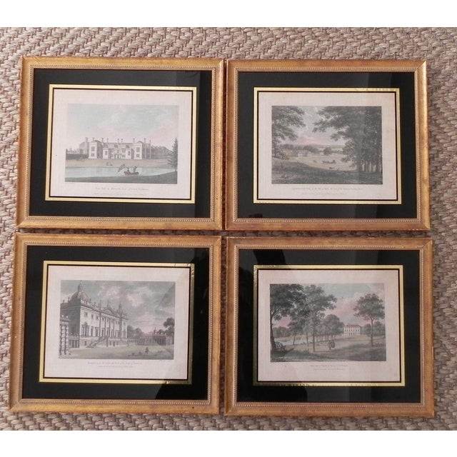 Antique English Architectural Engravings - Set of 4 - Image 2 of 8