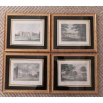 Image of Antique English Architectural Engravings - Set of 4