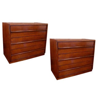 Pair of T.H. Robsjohn-Gibbings Chests or Commodes
