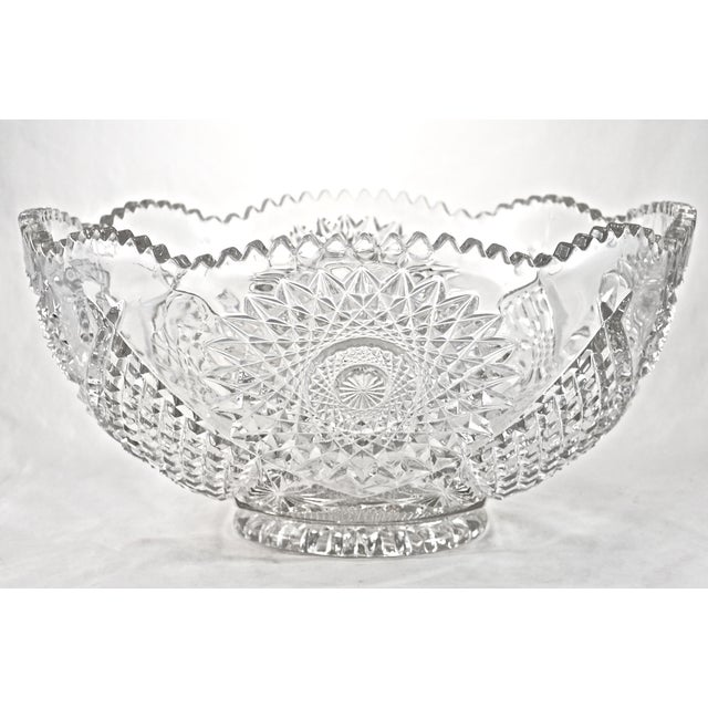 "Image of 14"" Early American Hobstar Bowl"