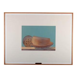 """Stephen Neil Lorber """"Navajo Ceremonial"""" Aquatint"""