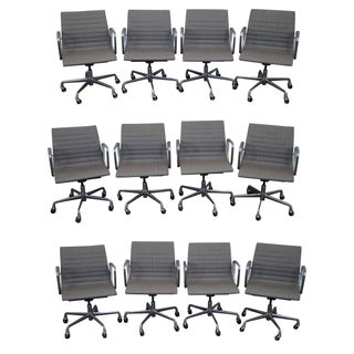 Eames Aluminum Group Management Arm Chairs - 12