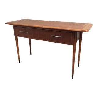 Lane Acclaim Mid-Century Modern Style Console Table