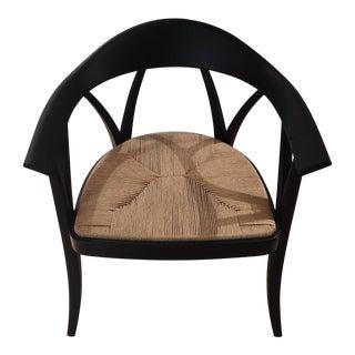 DePadova Donzella Black Armchair