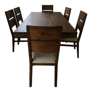 Wooden Dining Set - 7 Pieces