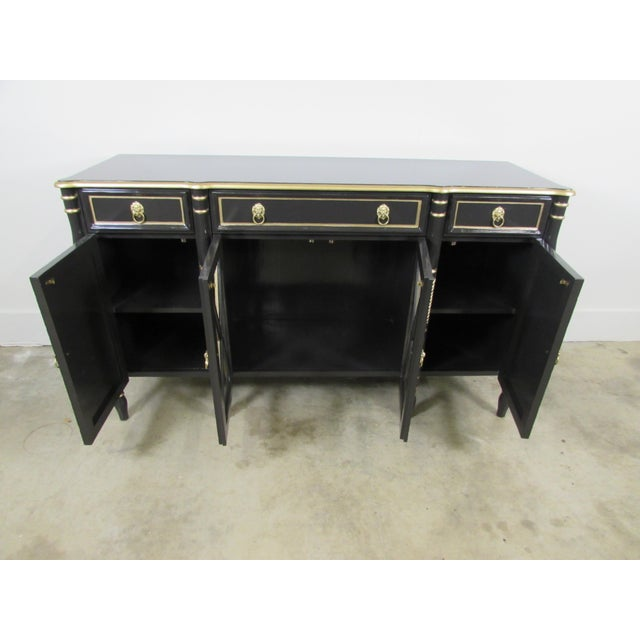 Maison Jansen Black Sideboard - Image 4 of 9